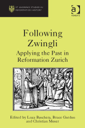 Buchcover Following Zwingli