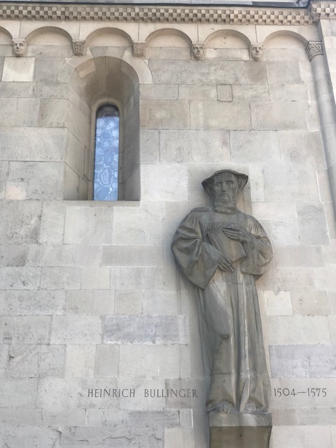 Heinrich Bullinger am Grossmünster
